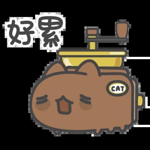 貓貓蟲咖波-貓蟲大百科 - Sticker 27