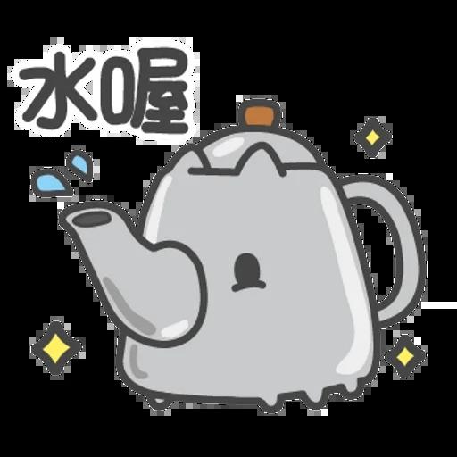 貓貓蟲咖波-貓蟲大百科 - Sticker 24