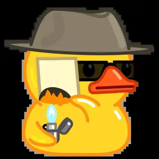 Utya Duck Animated - Sticker 23