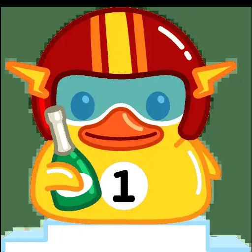 Utya Duck Animated - Sticker 4