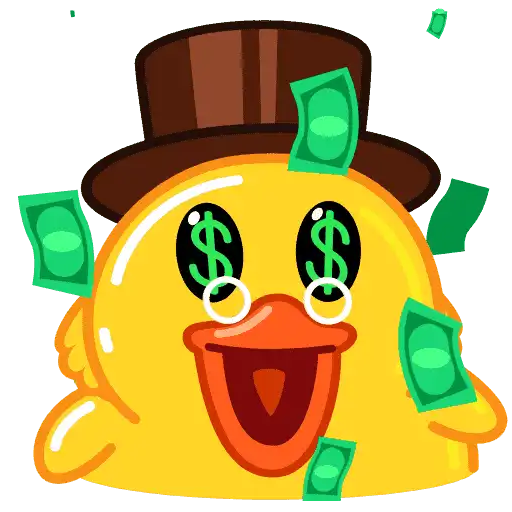 Utya Duck Animated - Sticker 1