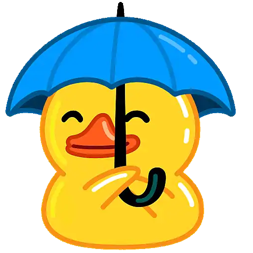 Utya Duck Animated - Sticker 12