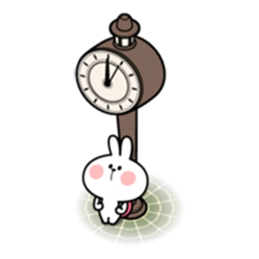 spoilt rabbit date 1 - Sticker 10