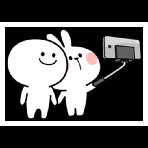 spoilt rabbit date 1 - Sticker 22