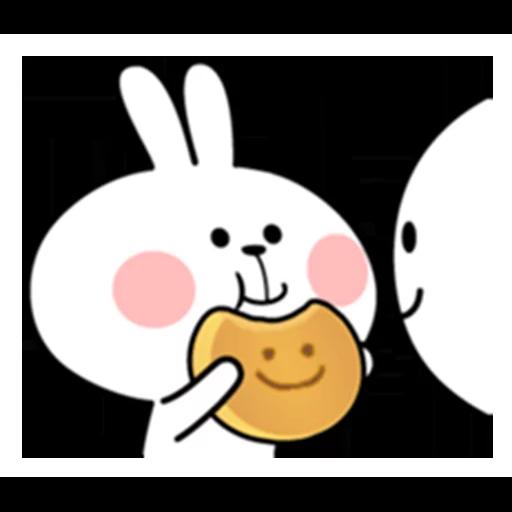 spoilt rabbit date 1 - Sticker 25
