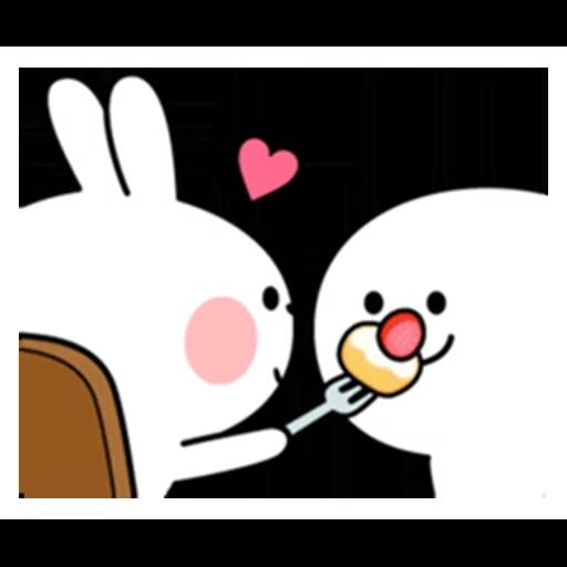 spoilt rabbit date 1 - Sticker 23