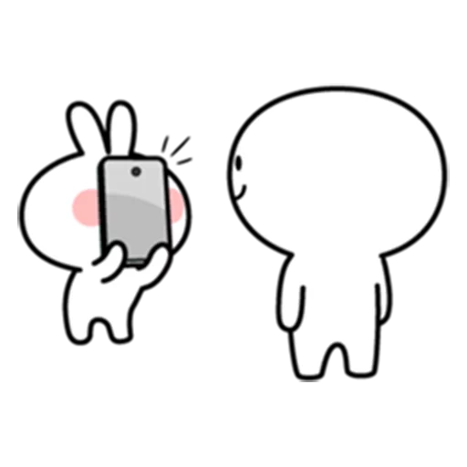 spoilt rabbit date 1 - Sticker 21