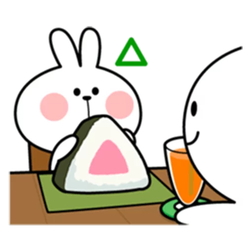 spoilt rabbit date 1 - Sticker 24