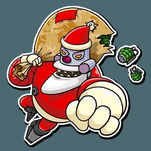 Robo Santa - Sticker 8