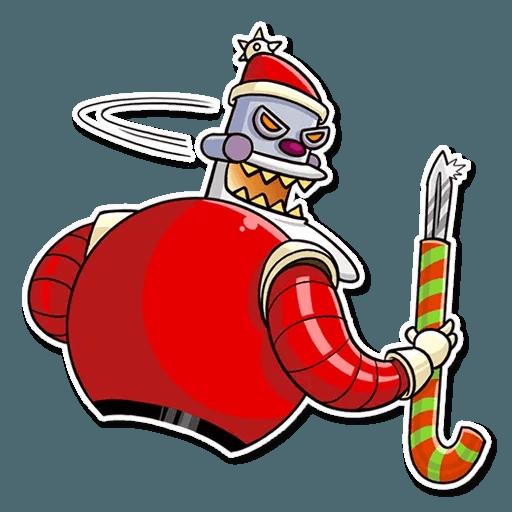 Robo Santa - Sticker 18