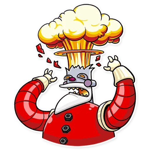 Robo Santa - Sticker 6