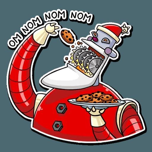 Robo Santa - Sticker 17