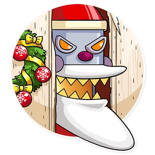 Robo Santa - Sticker 15
