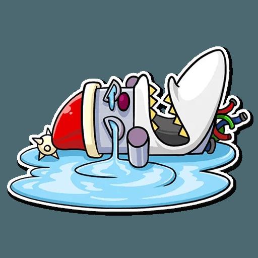 Robo Santa - Sticker 16