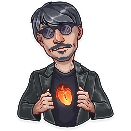 Hideo Kojima - Sticker 2