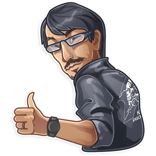 Hideo Kojima - Sticker 3