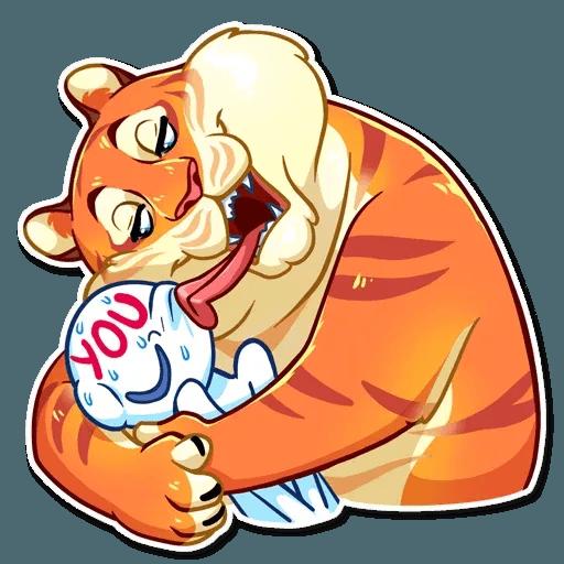Amur Tiger - Sticker 18