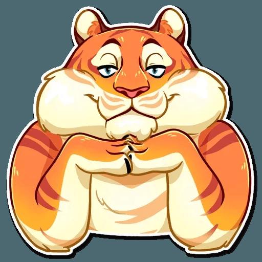 Amur Tiger - Sticker 24