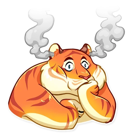 Amur Tiger - Sticker 15