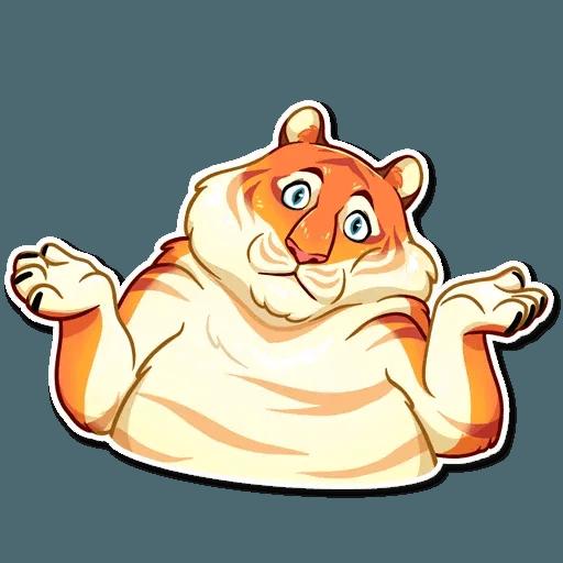 Amur Tiger - Sticker 23
