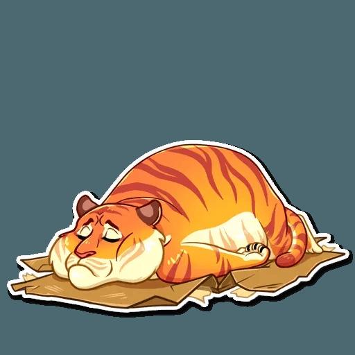 Amur Tiger - Sticker 9