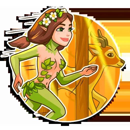 Ninfa - Sticker 3