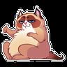 Kookycat - Tray Sticker