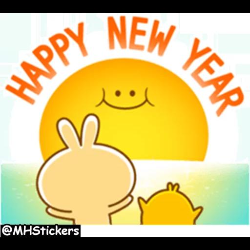 New year - Sticker 9