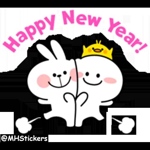 New year - Sticker 2