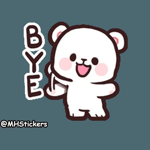 Cute bear - Sticker 13