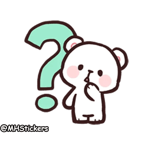 Cute bear - Sticker 5