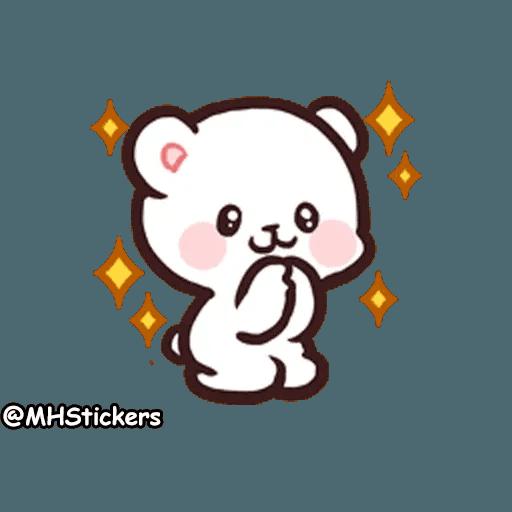 Cute bear - Sticker 7