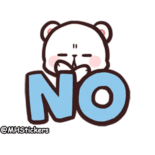 Cute bear - Sticker 3