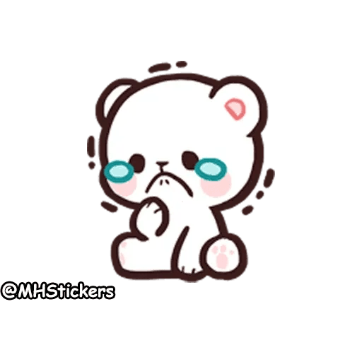 Cute bear - Sticker 15