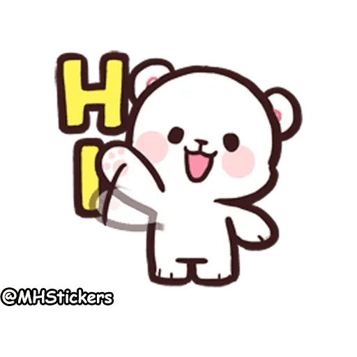 Cute bear - Sticker 1