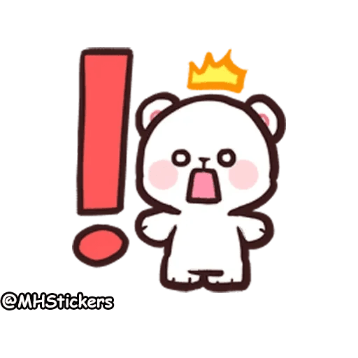 Cute bear - Sticker 4