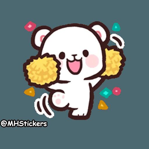 Cute bear - Sticker 27