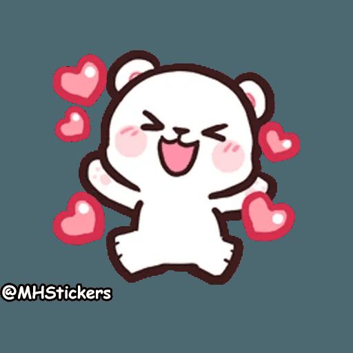 Cute bear - Sticker 6