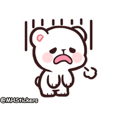 Cute bear - Sticker 11