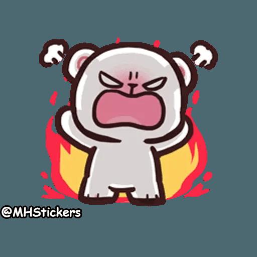 Cute bear - Sticker 17