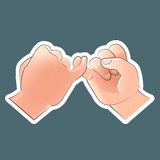 Fingers - Sticker 22
