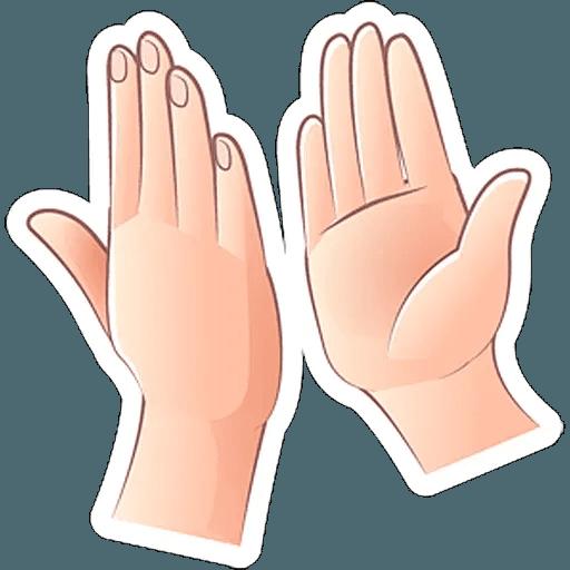 Fingers - Sticker 5