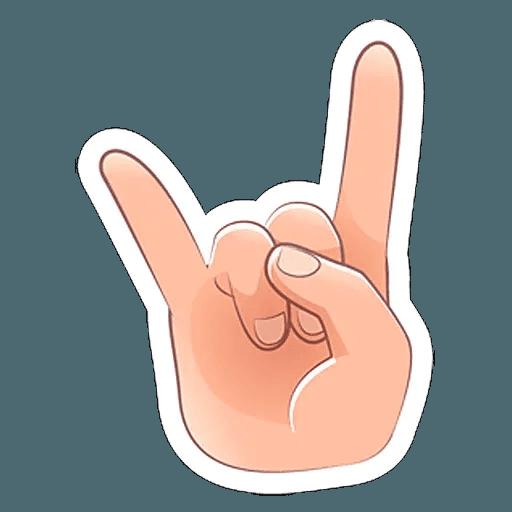 Fingers - Sticker 11