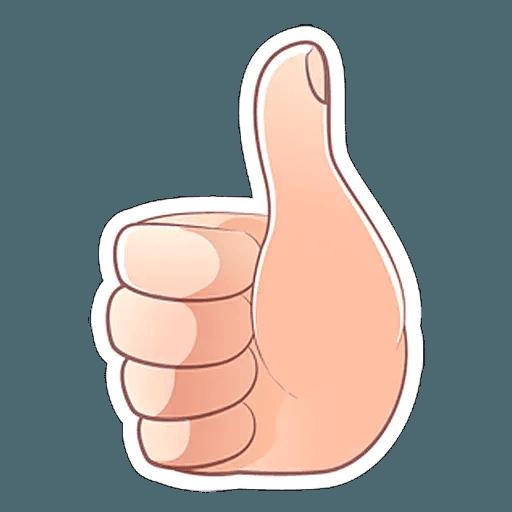 Fingers - Sticker 7