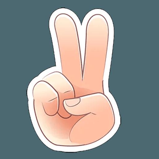 Fingers - Sticker 3