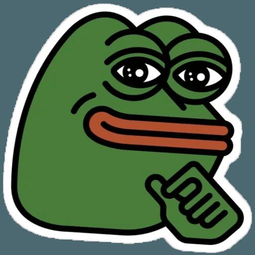 Random Pepe - Sticker 9