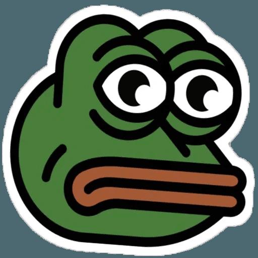 Random Pepe - Sticker 8