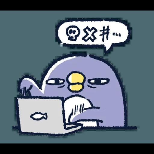 Bird*($#(% - Sticker 2