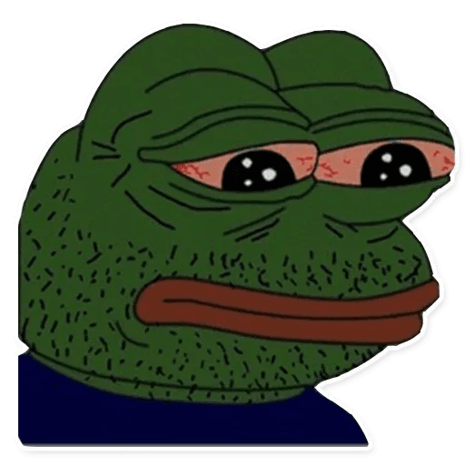 pepe sad - Sticker 27