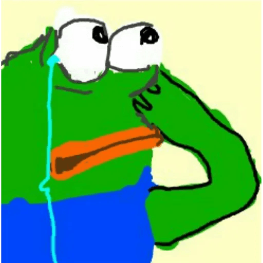 pepe sad - Sticker 14